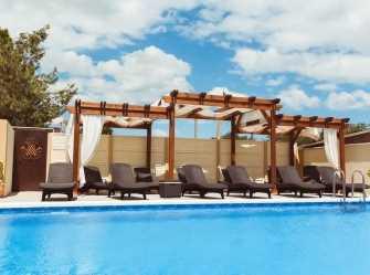 Уютный отель в 500 метрах от пляжа