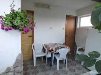 1-ком. недорогой домик с отдельным двором 400м до моря на 4 чел