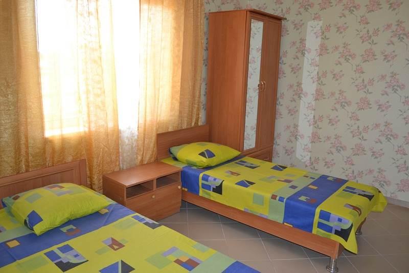 стандартный 3-х местный номер с раздельными кроватями