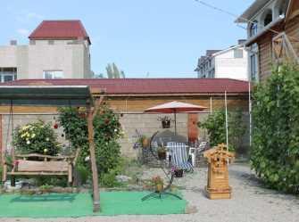Мини-отель из дерева, 7 мин. к морю