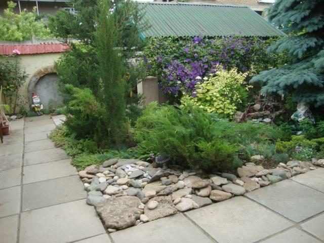 Гостевой дворик для семейного отдыха.