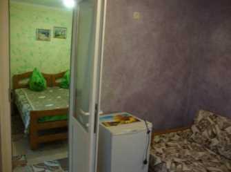семейный 2-х комнатный 3-4х местный номер с удобствами