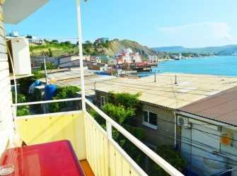 Двухместный номер с балконом вид на море