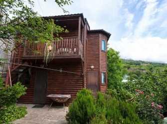 Деревянный дом на 4 комнаты