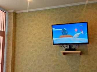 2-комнатная студия на берегу моря