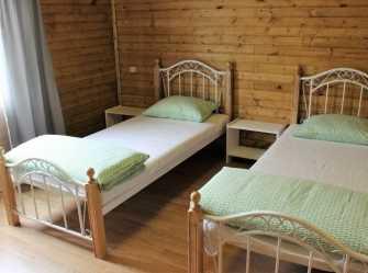 3х комнатный 2х этажный деревянный коттедж на 6 человек