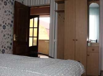 Апартаменты с двумя спальнями на 4 человека, вид на горы.
