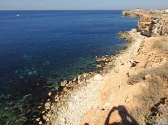 Номера у моря недорого (Севастополь, Голубая бухта, 35 батарея)