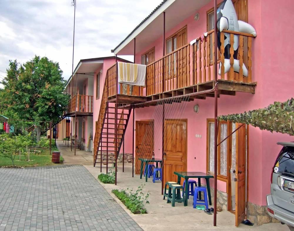 Гостевой дом в Окуневке.