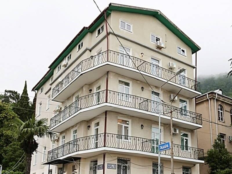 Эллада отель в Гаграх