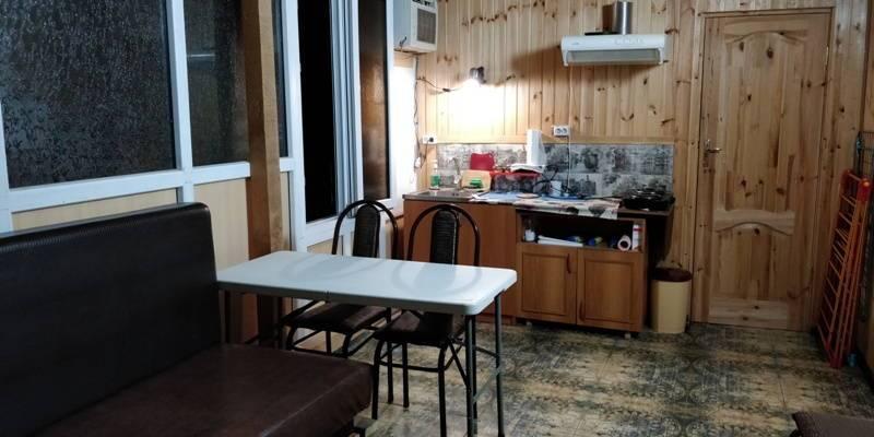 1-комнатная квартира (на земле) 1-й переулок Терешковой 7 в Гаграх
