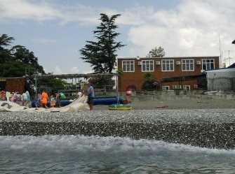 Пляжный дом гостевой дом в Цандрипше