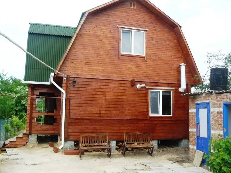 Азовис дом под-ключ в Голубицкой