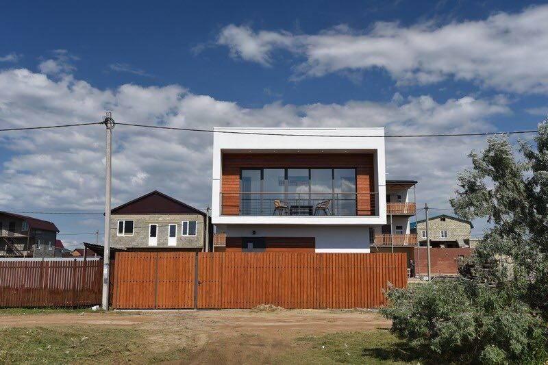 Дом под-ключ Столичная 24 в Голубицкой