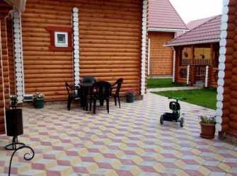 Лесная дача 2 дома под-ключ в Голубицкой
