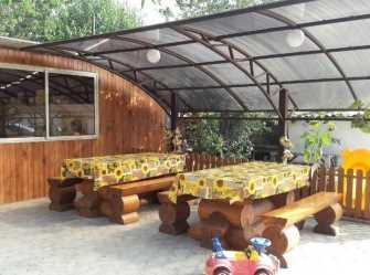 Янтарная сосна гостевой дом в Кучугурах