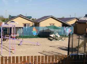 Деревянные дома частный сектор в Должанской