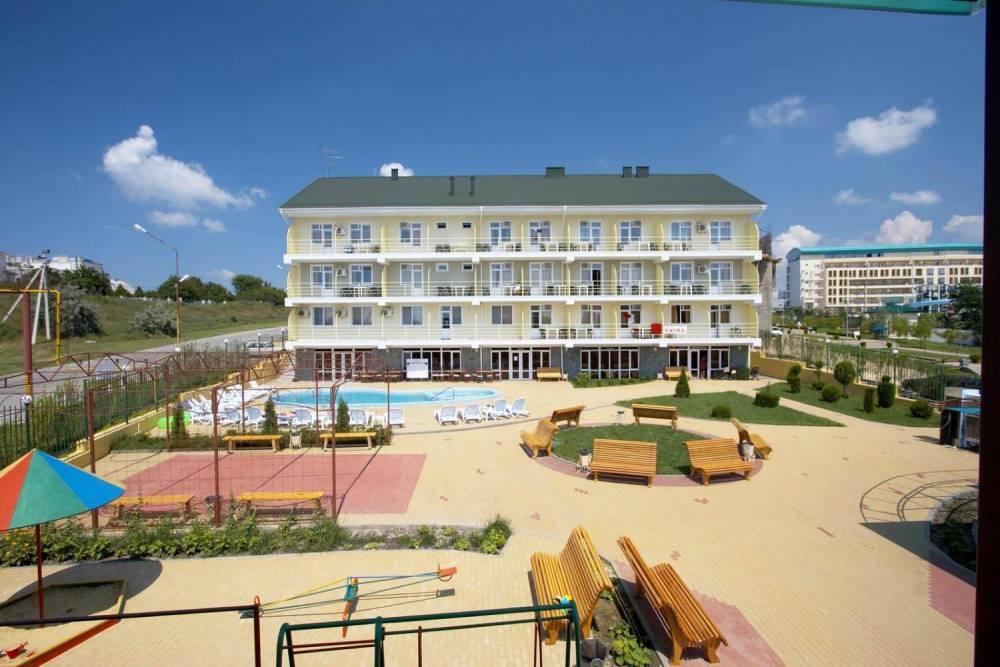 Ретро гостевой дом в Витязево