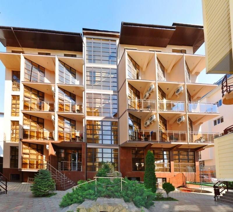 Золотое Руно гостиница в Витязево