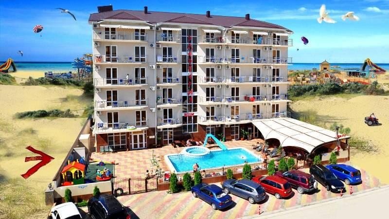 Элефтерия отель в Витязево