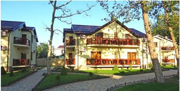 Платан Resort отель в Витязево