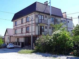 Баварский Дворик гостевой дом в Голубой Бухте