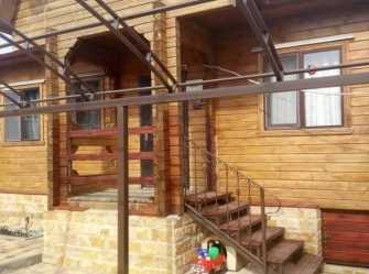 Монастырский терем дом под-ключ в Голубой Бухте