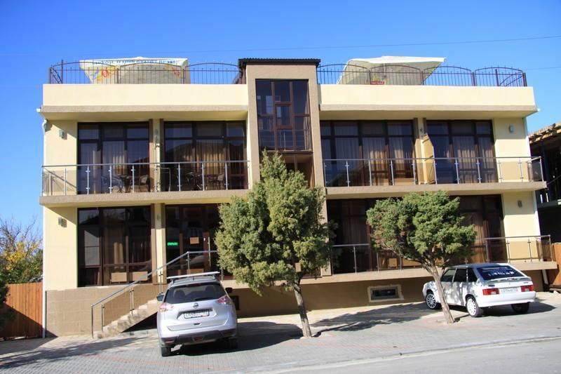 Терраса мини-гостиница в Кабардинке