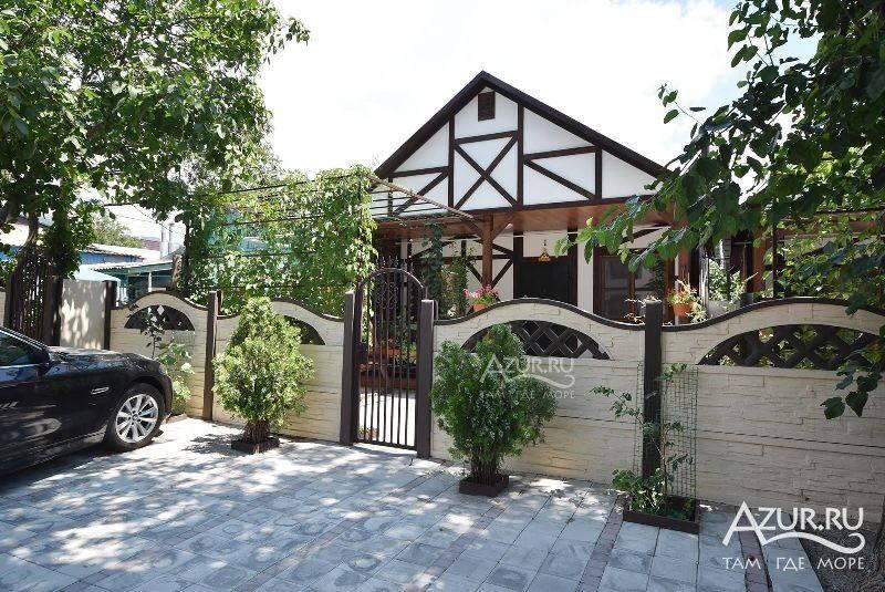 Дом под-ключ Корницкого 10 в Кабардинке