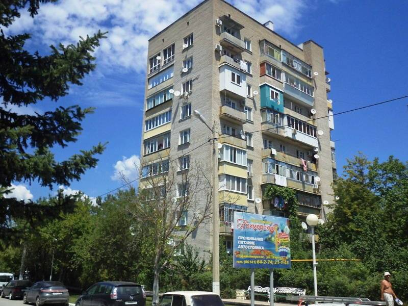 2-комнатная квартира Кирова 19 в Дивноморске