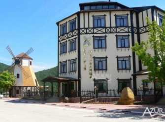 Старая мельница гостиница в Архипо-Осиповке