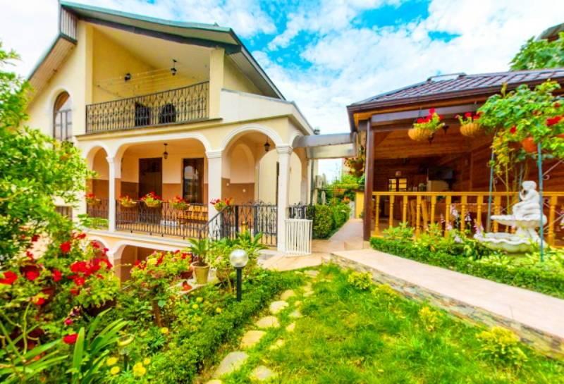 Зеленая лагуна гостевой дом в Сочи