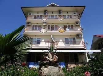 Милана гостиница в Лазаревском