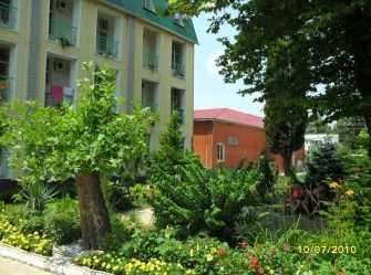Салют гостиничный комплекс в Новомихайловском