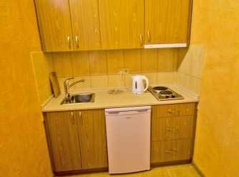 Двухместный с мини-кухней и балконом с видом на море