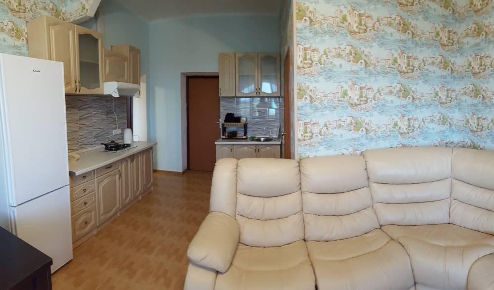 двухкомнатные апартаменты с кухней и видом на море