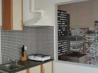 Студия в Кастрополе с видом на море, горы. Свой балкон, кухня.