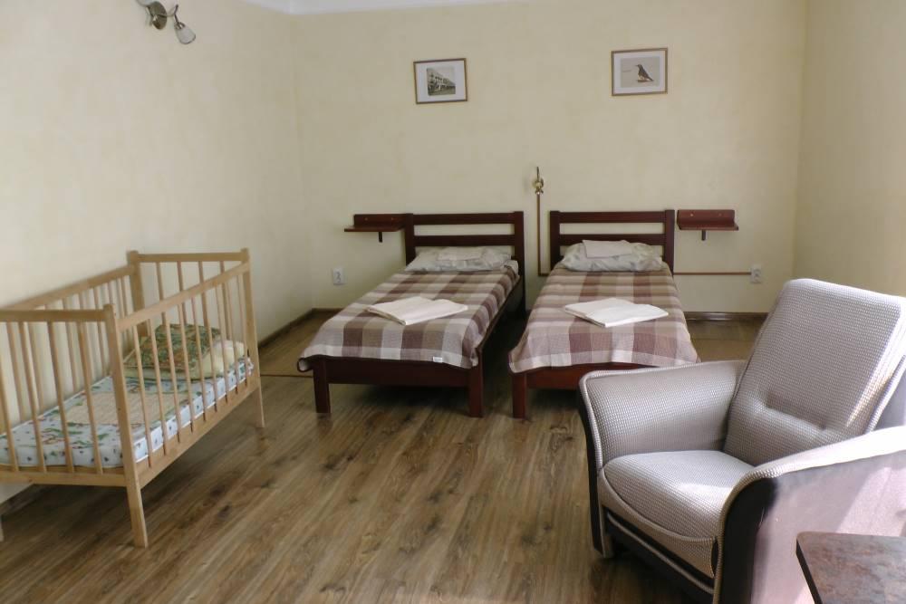 2-комнатный Семейный полулюкс