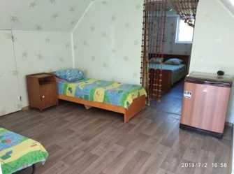 Двухкомнатный номер люкс с площадкой.