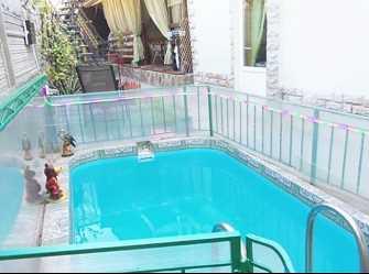 Дом Двухкомнатный на 7 человек во дворе бассейн 7 на 7 м