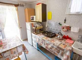2х местный домик с удобствами и мини-кухней