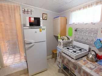 3х местный домик с удобствами и мини-кухней