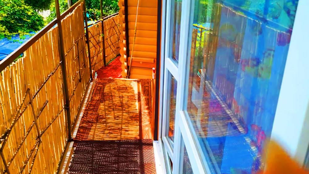 №2 Номер двухкомнатный с балконом 2 этаж во дворе бассейн