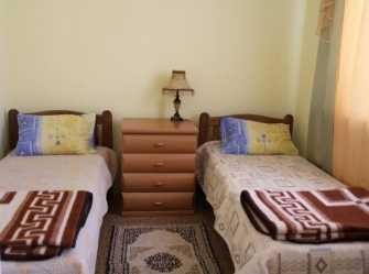Двухместный номер с отдельными кроватями и видом на море
