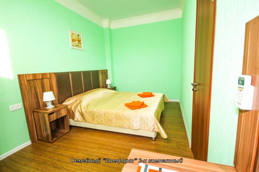 Семейный Комфорт 2-х комнатный (до 5 чел)