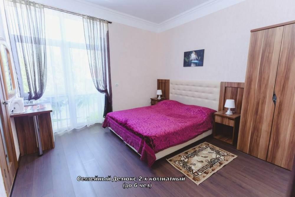 Семейный Делюкс 2-х комнатный (до 6 чел)