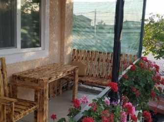 Семейная 2-х комн студия с балконом 800 метров от пляжа.