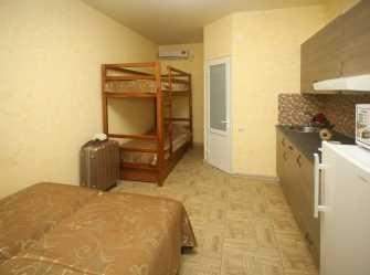 комната с мини-кухней на 4 чел с балконом